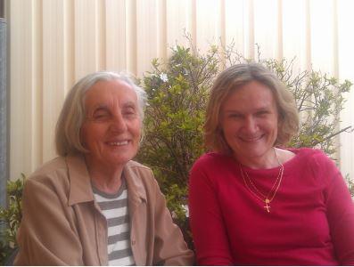 Julijana and Lorena, Volunteer Visiting Program
