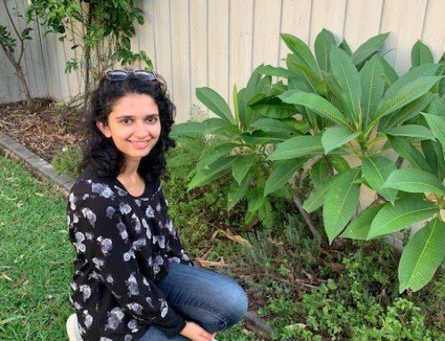 Meet our volunteer gardener– Azka Hameed